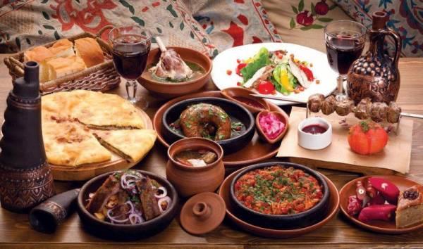 Грузинская кухня. Фото блюда грузинской кухни.