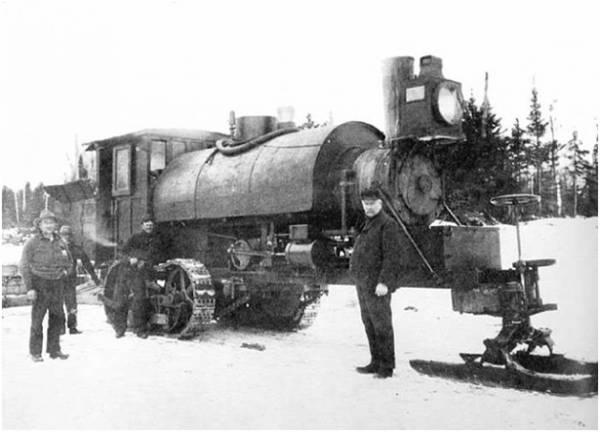 Самый первый трактор
