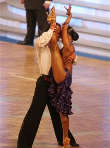 Бальные танцы парный спорт