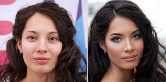 Макияж. Значение макияжа в жизни женщины, фото